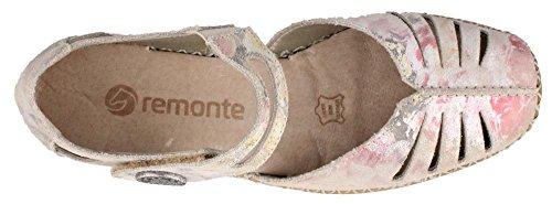 Ladies 90 Multicolore D1636 Remonte Multi Shoe REMONTE 86z5qwCx