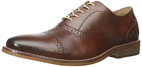 (G.H. Bass & Co. Men's Carnell Oxford, British Tan, 9 M US)