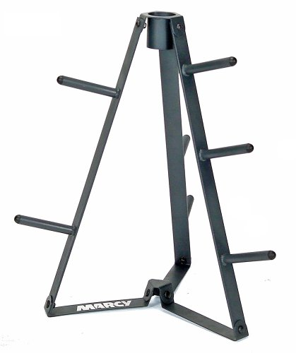 Marcy Plate Tree for Standard Size Weight Plates Storage Rack for Exercise Weights PT-36