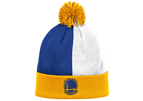 Mitchell & Ness NBA Over and Back Cuffed Pom Beanie Knit – DiZiSports Store