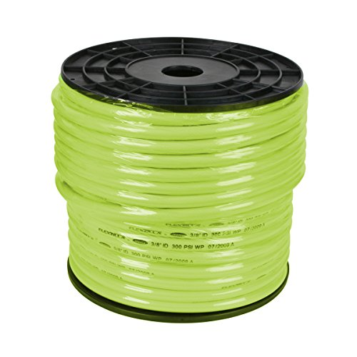 Flexzilla Pro Air Hose, Bulk Plastic Spool, 3/8 in. x 250 ft., Heavy Duty, Lightweight, ZillaGreen - HFZ38250YW by Flexzilla