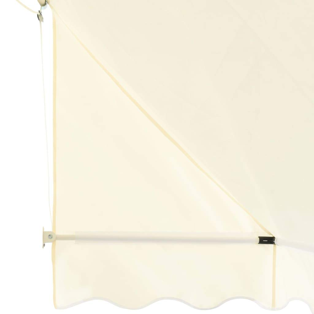 Tidyard Tenda da Sole,Tenda da Sole a Righe per Balcone Veranda o Terrazzo,Casa e Giardino Prato e Giardino Vita allaperto Tende Parasole di ghuanton 200x120 cm Crema