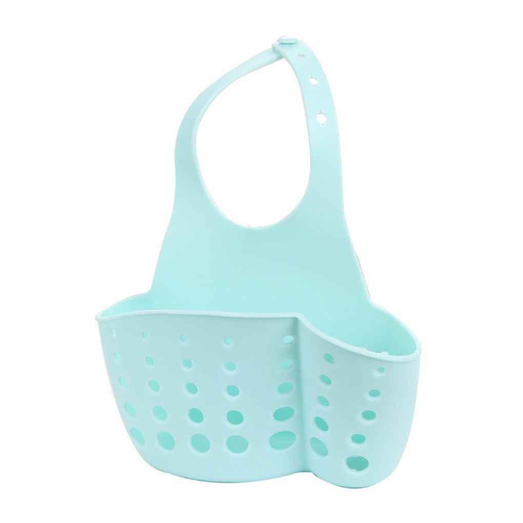 fgyhtyjuu Hanging Scarico Bag Carrello Bagno Bagagli Gadget Strumenti Sink Holder Plastic