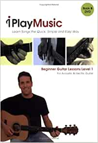 beginner guitar lessons level 1 for acoustic electric guitar book dvd quincy carroll. Black Bedroom Furniture Sets. Home Design Ideas