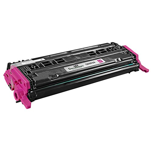 Speedy Inks - Compatible Replacement HP 124A Q6003A Magenta Laser Toner Cartridge for HP Color Laserjet CM1015mfp Laserjet CM1017mfp Laserjet 1600 Laserjet 2600n Laserjet 2605dn Laserjet (Q6003a Compatible Magenta Laser)