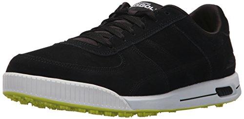 Skechers Mens Outlet (Skechers Performance Men's Go Golf Drive Authentic Golf Shoe,Black/White,9 M US)
