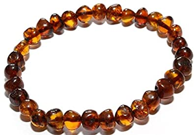 Jewellery & Watches Child Pippin Raw Green Honey Baltic Amber Anklet Bracelet