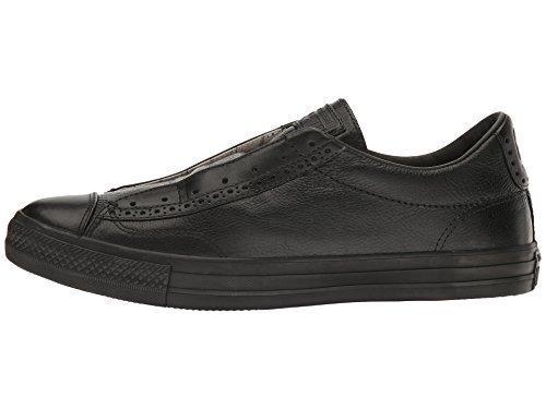 b99d3bff002d12 Converse by John Varvatos Leather Vintage Slip On Sneaker Black Mono (9  Women 7