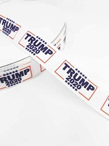 3 Yards Trump 2020 Grosgrain Ribbon- 7/8