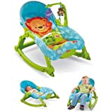 2in1 Newborn To Toddler Portable Rocker