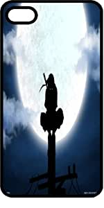 Ninja Perching On Light Pole In The Moon Light Tinted Rubber Case for Apple iPhone 4 or iPhone 4s