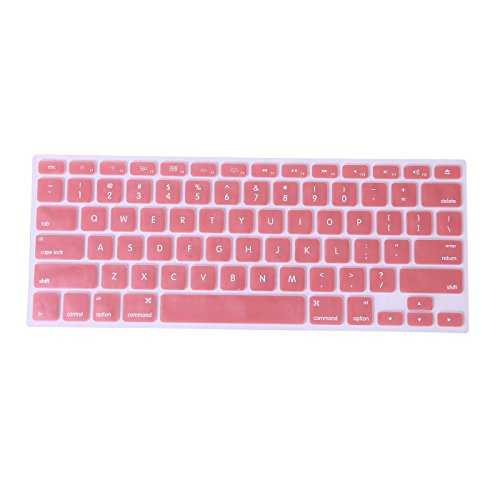 hde-metallic-finish-silicone-rubber-keyboard-skin-cover-for-macbook-pro-13-and-15-rose