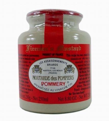 Price comparison product image Pommery Fireman's Mustard Meaux Moutarde in Pottery Crock