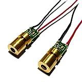 2pcs 6x10mm Infrared Laser 780nm 785nm 5mw IR Dot Laser Module HLM0610