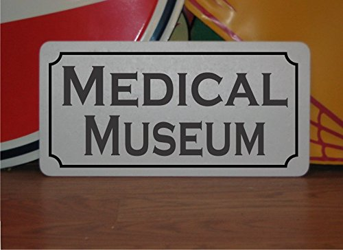 MEDICAL MUSEUM Metal Sign for Doctors Office Waiting Room - Waiting Doctors Office