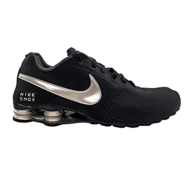 ... black white Mens running shoes ... nike shox deliver classic sneakers  new obsidian navy blue silver 317547 400 sz ... 8f6ebfcde