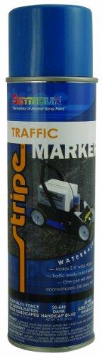 Seymour 20-649 Stripe Water Base Traffic Marker, Dark Handicap (Traffic Marker)