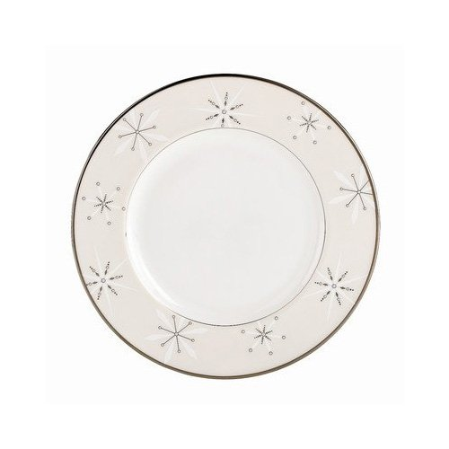 OKSLO Federal platinum snowflake accent plate Model d3046