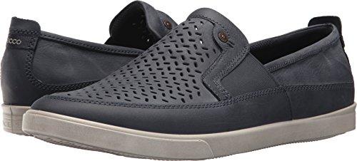 ECCO Men's Collin Perforated Slip On Sneaker, Marine, 43 M EU (9-9.5 US) -