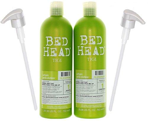 Bundle-4 Items : TIGI Bed Head Re-Energize Shampoo and Condi