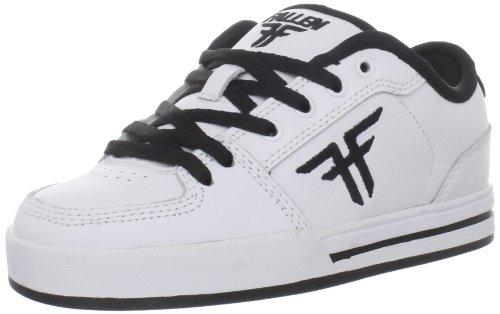 Fallen Patriot Kids Skate Shoe (Little Kid/Big Kid),White/White/Black,3 M US Little Kid