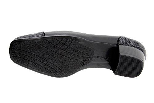 9108 Moccasin Larghezza Comfort Negro Donna Speciale Scarpe Comfort Pelle PieSanto wIWqXSaUpx
