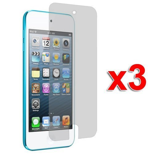 - 3X Clear LCD Screen Protector Cover Films for New iPod Touch 7 Gen 7th/5th Generation 5G 5