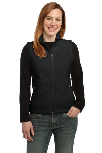 Vest Port Womens Authority (Port Authority Women's Value Fleece Vest L Black)