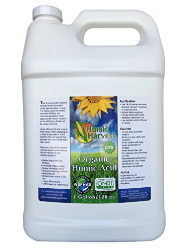 Humic Acid X75 - 1 Gallon (128 oz) - Water Extracted
