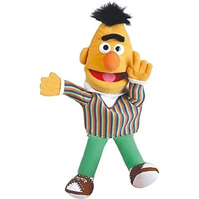 """Sesame Street - 16"""" Plush / Beanie Hand Puppet / Doll (Bert)"""