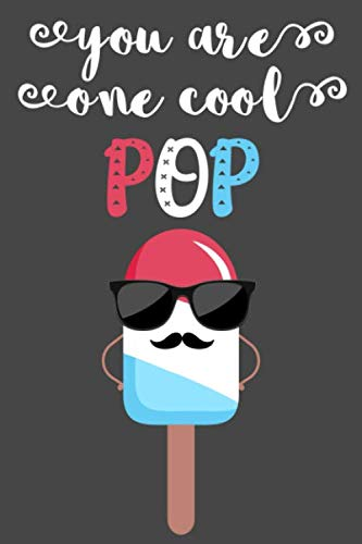 You Are One Cool POP: Prompted Fill In The Blank Book About Dad/ Grandpa /Father's day/ Birthday Gifts From kids
