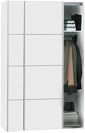 Verona, armario armario de puertas correderas, color blanco: Amazon.es: Juguetes y juegos