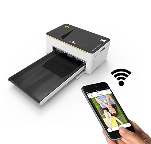 Amazon.com : Kodak Dock & Wi-Fi 4x6 Photo Printer with Advanced Patent Dye Sublimation Printing Technology & Photo Preservation Overcoat Layer - Compatible with Android & iOS : Camera & Photo