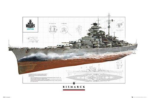 GB eye World Of Warships - Bismark Poster - 61x91.5cm