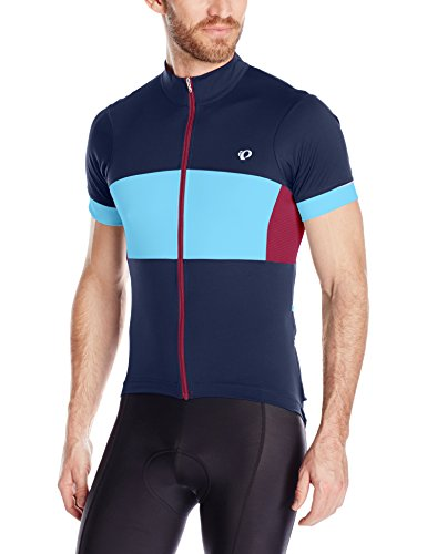 Pearl iZUMi Men's Elite Escape Semi Form Jersey, Eclipse Blue/Blue Mist, X-Large (Jersey Shorts Elite)