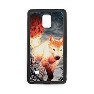 Clzpg Customized Samsung Galaxy Note4 Case - Fire shell phone case