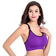 RAINED-Sexy Sports Bra Running Gym Yoga Workout Outfits Mesh Bra Athletic Wear Fitness Tank Tops Underwear Crop Tanks