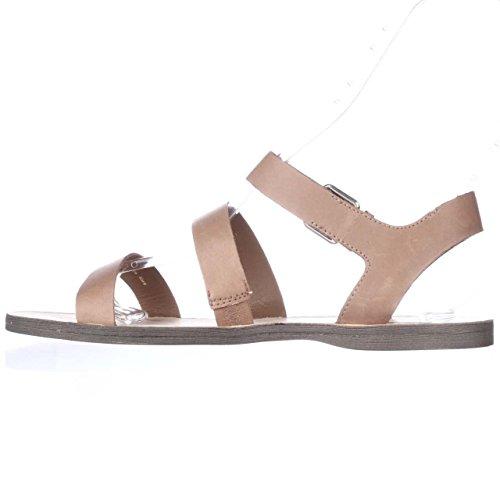 Dolce Vita Vrouwen Veya Caramel Lederen Sandaal 8,5 M