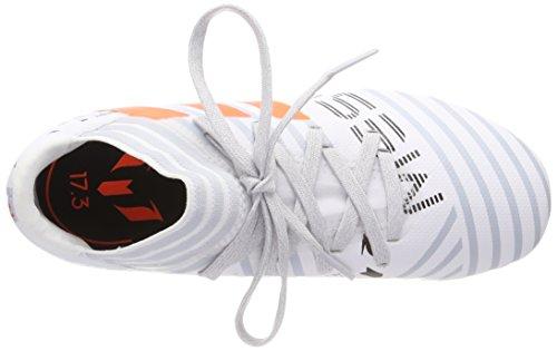 adidas Jungen Nemeziz Messi 17.3 FG J Fußballschuhe Mehrfarbig (Ftwr White/solar Orange/clear Grey S12)