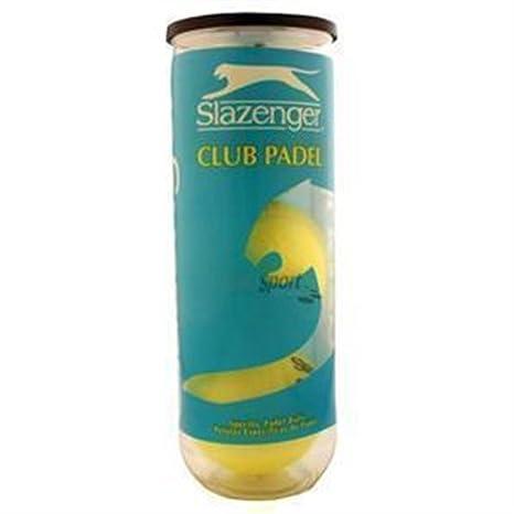 Slazenger Club Pelotas en Bote, Unisex, Amarillo, 3 Unidades: Amazon.es: Deportes y aire libre