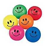 Fun Express Smile Face Bouncing Balls (48 Count)