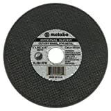 Slicer Cutting Wheel, 6 in Dia.045 in Thick, 60 Grit Aluminum Oxide (5 Pack)
