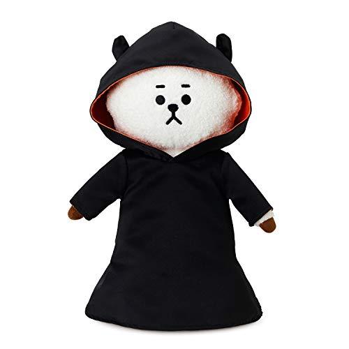 LINE FRIENDS BT21 Spooky Halloween Series - 15 Inch Plush Standing Character Figure Decor, RJ