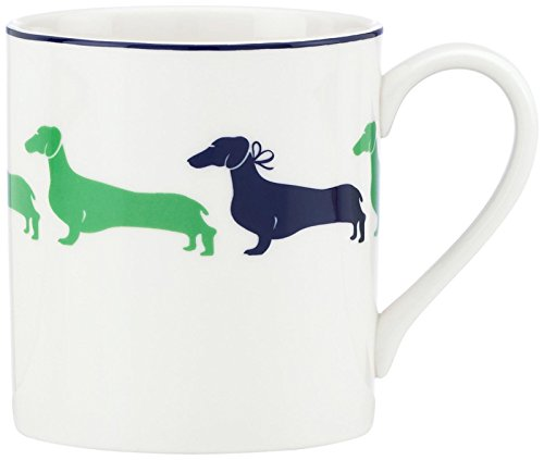 (kate spade new york Wickford Dachshund Accent Mug)