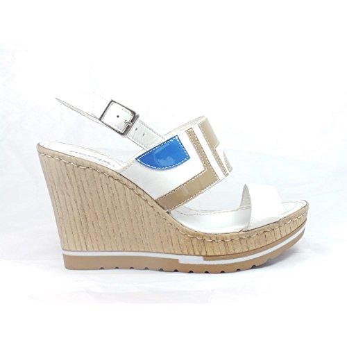 Aeros - Sandalias de vestir para mujer blanco blanco