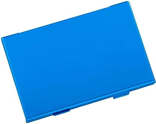 Shumo Caja de Cartucho de Tarjeta de Juego Aluminio 10 Caja de Almacenamiento de Juegos 6 Tarjetas de Juego 4 Tarjetas Tf para Ns Switch Accesorio de Juego Azul: Amazon.es: Videojuegos