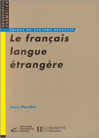 Amazon Fr Le Francais Langue Etrangere Emergence Et