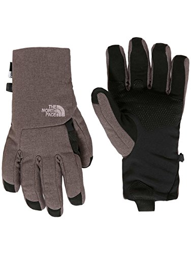 The North Face Womens Apex+ Etip Gloves (Sizes XS - L) - rabbit grey heather, l