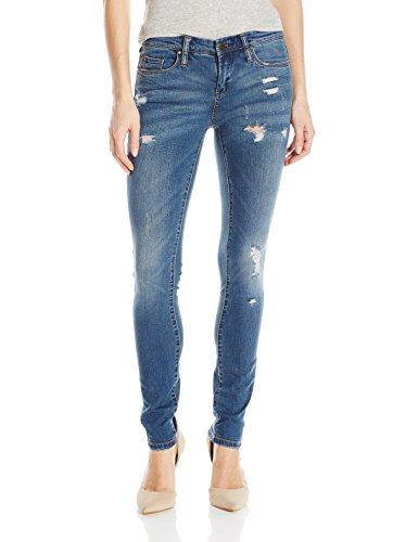 [BLANKNYC] Women's Skinny Classique Distressed Jean, Blue, 29
