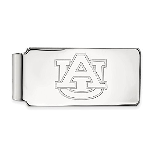 Auburn Money Clip (Sterling Silver) by LogoArt